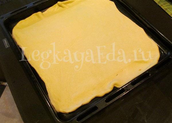 пирог с фаршем и картошкой в духовке пошаговый рецепт с фото