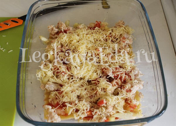 рецепт лазаньи в домашних условиях