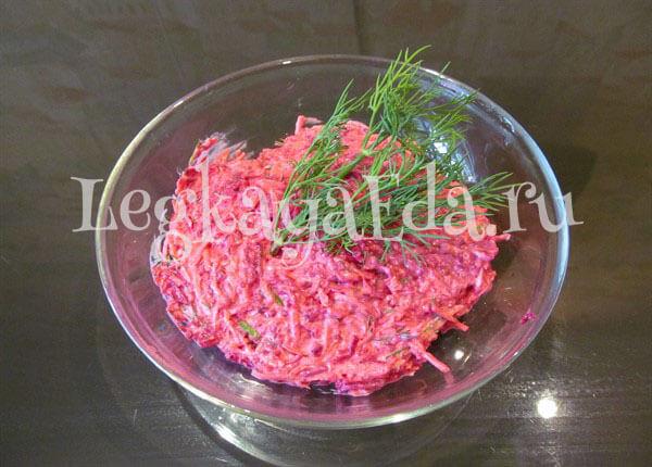 простой салат на скорую руку рецепт дешевый