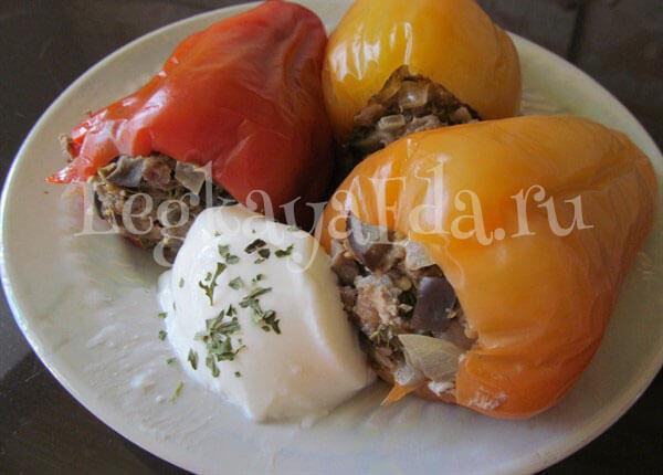 фаршированный перец овощами самый вкусный рецепт