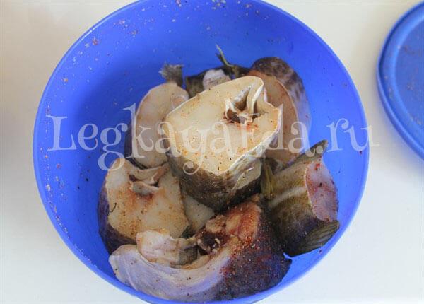 рыба в духовке с овощами рецепты с фото