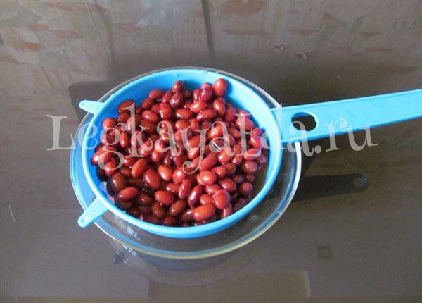 салат из красной фасоли рецепт с фото очень вкусный