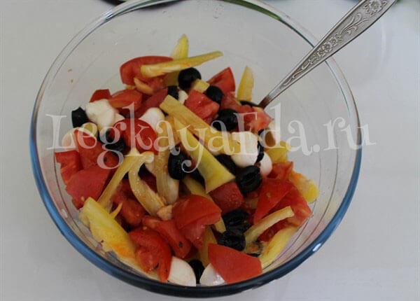 салат на скорую руку рецепты из простых продуктов