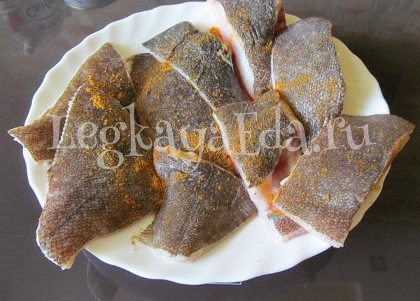 как приготовить камбалу вкусно в духовке пошаговый рецепт