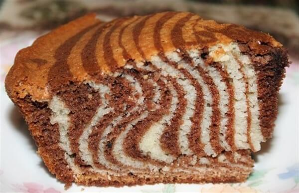 торт зебра классический рецепт