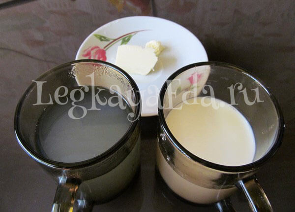 как сделать пюре из картошки с молоком