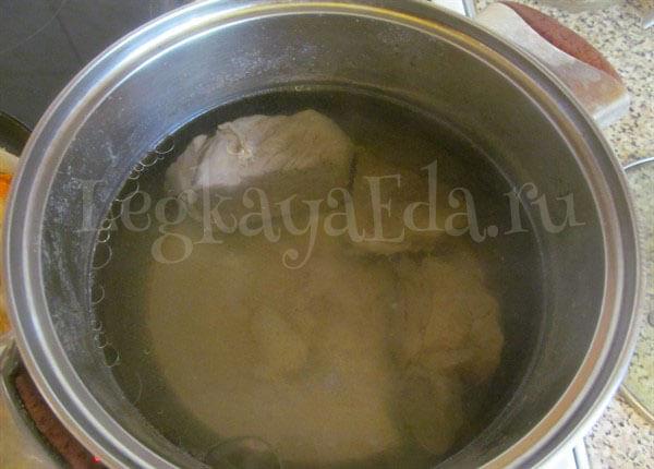 как готовить гороховый суп с мясом