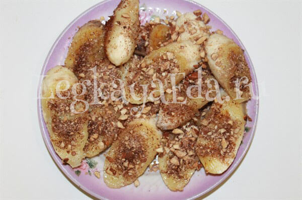 бананы жареные на сливочном масле