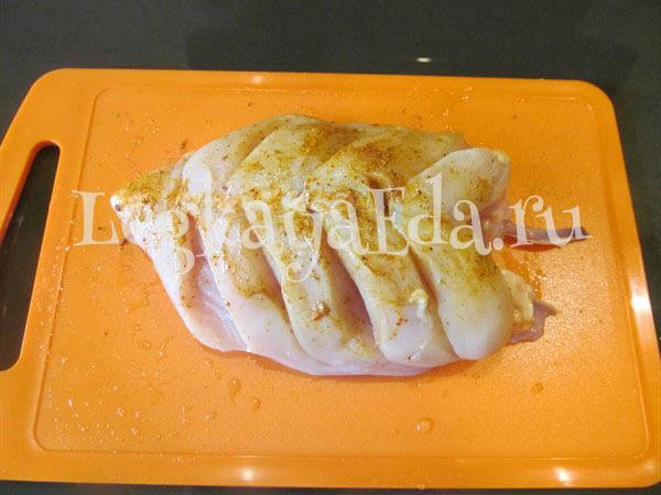 Куриная грудка в фольге - Пошаговый рецепт с фото