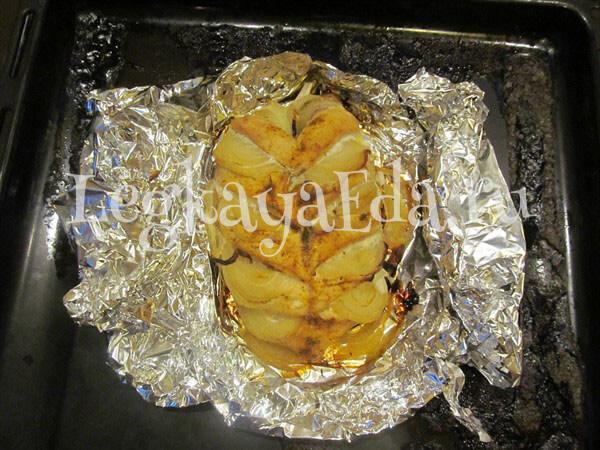 грудка куриная запеченная в духовке в фольге рецепт с фото