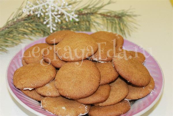 как приготовить имбирное печенье в домашних условиях