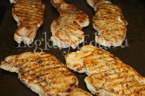 отбивное мясо из свинины как приготовить в духовке