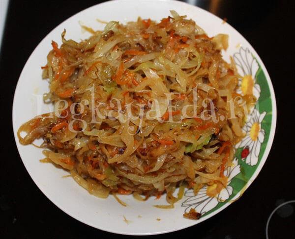 вареники с капустой пошаговый рецепт с фото