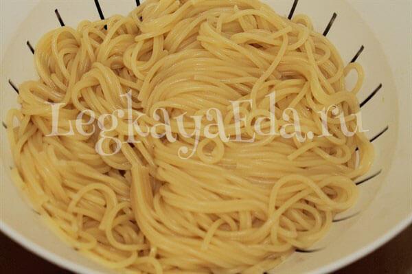 Паста рецепты спагетти - как приготовить