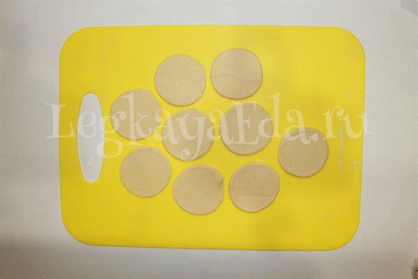 тесто для пельменей рецепт классический с фото пошагово