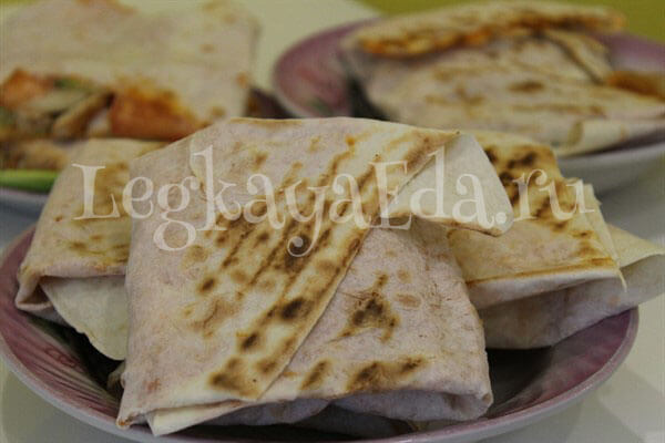 шаурма домашняя рецепт с фото пошагово