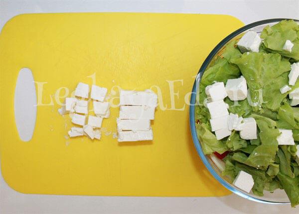 салат греческий рецепт с фото очень вкусный