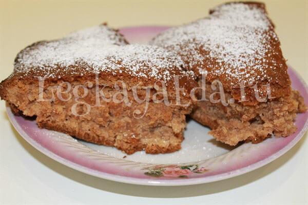 сладкий пирог с вареньем в духовке рецепт с фото