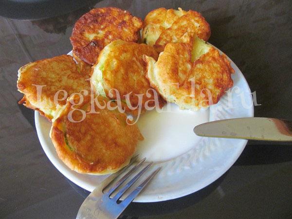 Жареные кабачки в кляре - рецепт с пошаговыми фото