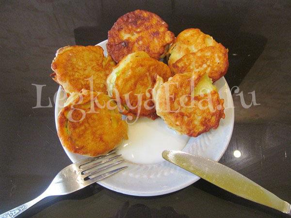 Как поджарить кабачки в кляре на сковороде