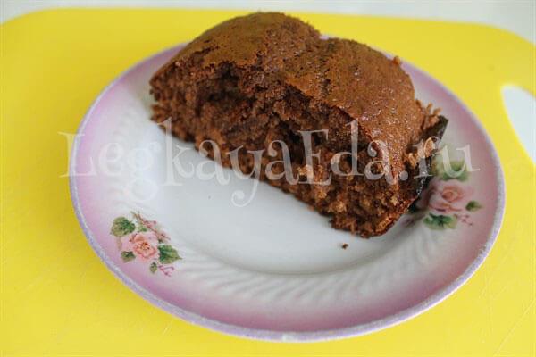 шоколадный кекс - нежный, вкусный и очень пышный