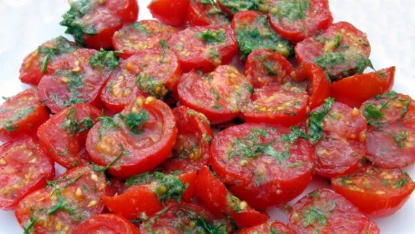 Закуска из помидоров по-корейски - рецепт пошаговый с фото