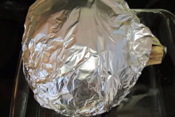 Как запечь тыкву в духовке целиком, чтобы она была сочной{q}