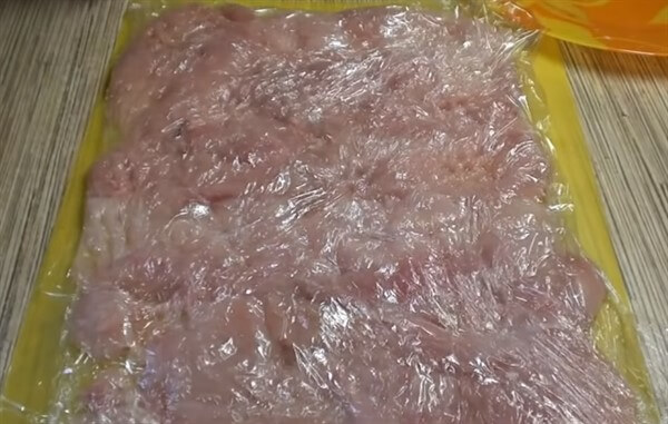Как приготовить грудку в фольге