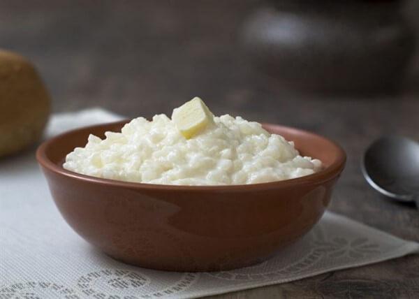 Сварить вкусную рисовую кашу на молоке