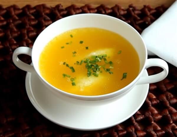 Суп с клецками (галушками) - рецепты приготовления на мясном бульоне