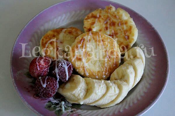 ПП сырники из творога пошаговый рецепт на сковороде с фото