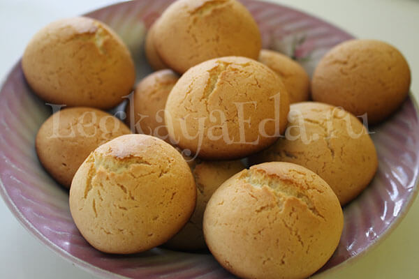 простое и вкусное печенье на растительном масле